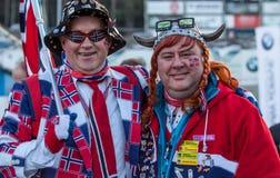 挪威流动代课教师组 库存照片