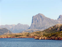 挪威海湾 库存图片