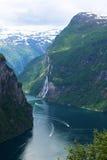 挪威海湾3 免版税库存图片