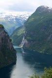 挪威海湾 免版税库存照片