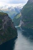 挪威海湾2 库存图片
