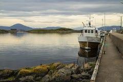 挪威港口 免版税库存图片