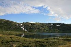 挪威瀑布 图库摄影