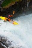 挪威瀑布 库存照片