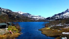 挪威的峡湾 库存图片