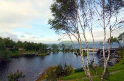 挪威的峡湾 免版税库存图片