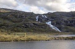 挪威的湖 免版税库存照片