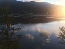 挪威的秀丽 图库摄影