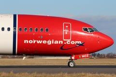 挪威空气梭 库存照片
