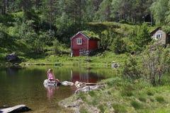 挪威美人鱼 图库摄影