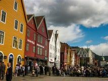 挪威美国独立日 免版税库存照片