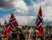 挪威美国独立日 免版税库存图片