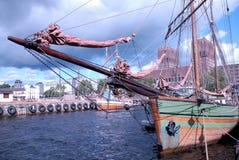 挪威船 库存照片