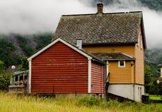 挪威议院 库存照片