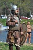 挪威语北欧海盗在圣彼德堡 免版税图库摄影