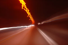 挪威隧道 库存照片