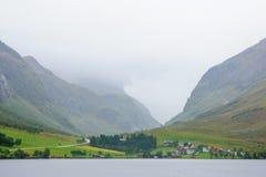 挪威风景和乡下 图库摄影