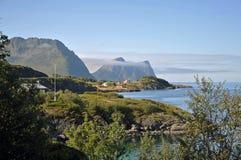 挪威风景视图 库存照片