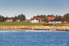 挪威风景,特隆赫姆地区 库存照片