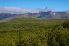 挪威风景 免版税图库摄影