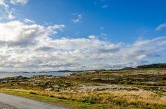 挪威高地 库存照片