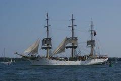 挪威高船在多伦多港口彼得J Restivo 免版税库存照片