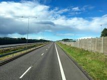 挪威高速公路 免版税库存照片
