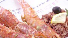 挪威龙虾用米 股票视频