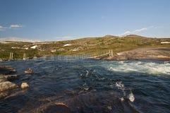 挪威, Hardangervidda 图库摄影