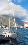 挪威, Nusfjord海岛  免版税图库摄影
