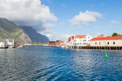 挪威, Nusfjord海岛  库存图片