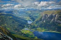 挪威 海湾 免版税库存图片