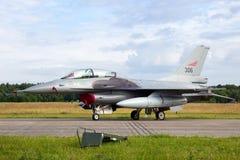 挪威F-16 免版税库存图片