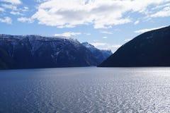 挪威sognefjord 库存图片