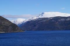 挪威sognefjord 免版税图库摄影