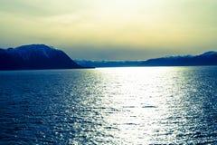 挪威sognefjord 图库摄影