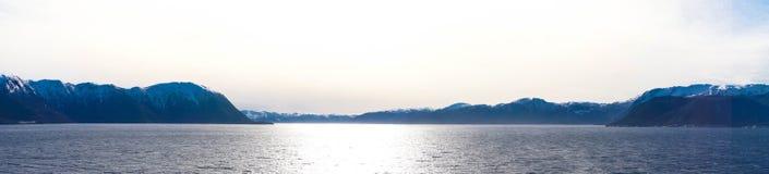 挪威sognefjord 库存照片