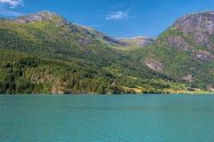 挪威stryn 免版税库存照片