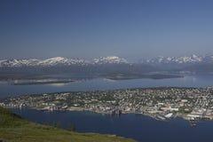 挪威tromso 免版税库存照片
