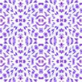 振动在蓝色的无缝的简单的样式抽象斑点 免版税库存图片