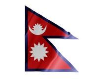振翼的尼泊尔 免版税库存图片