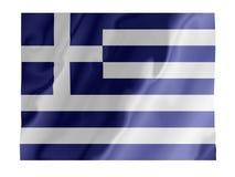 振翼的希腊 免版税库存图片