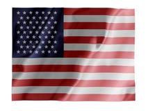 振翼的美国 免版税库存图片