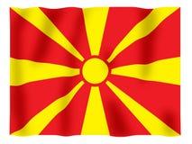 振翼的马其顿 免版税库存照片