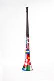 挺直vuvuzela 免版税图库摄影