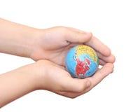 挽救世界 免版税库存图片