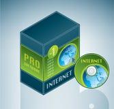 捆绑互联网软件 免版税库存照片