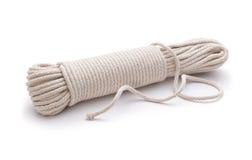 捆绑被解开的绳索 免版税库存图片
