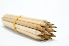 捆绑铅笔 免版税库存照片
