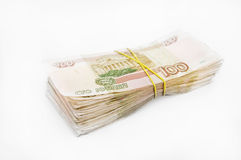 捆绑货币 库存照片